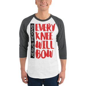 Every Knew Will Bow 3/4 sleeve raglan shirt-t-shirt-PureDesignTees