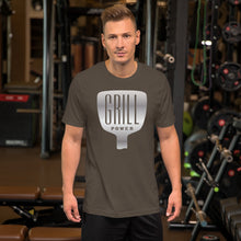 Load image into Gallery viewer, Grill Power Short-Sleeve Unisex T-Shirt, T-shirt - PureDesignTees