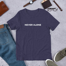 Load image into Gallery viewer, Never Alone Short-Sleeve Unisex T-Shirt-T-Shirt-PureDesignTees