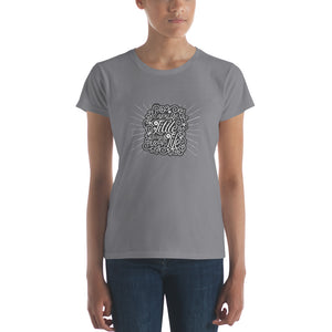 Enjoy the Little Things in Life Women's short sleeve t-shirt - PureDesignTees
