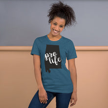 Load image into Gallery viewer, Pro-Life Alabama Short-Sleeve Unisex T-Shirt-t-shirt-PureDesignTees