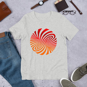Vortex Optical Illusion Short-Sleeve Unisex T-Shirt-T-Shirt-PureDesignTees