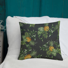 Load image into Gallery viewer, Pineapple Pattern Premium Pillow-Premium Throw Pillow-PureDesignTees
