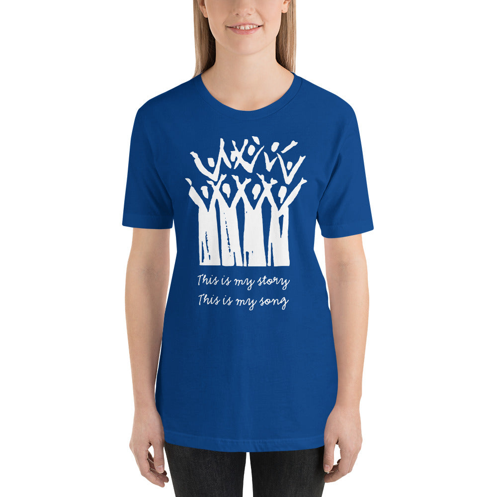 Choir This is My Story This is My Song Short-Sleeve Unisex T-Shirt