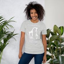 Load image into Gallery viewer, It's a Mom Thing Unisex Short Sleeve Jersey T-Shirt with Tear Away Label-t-shirt-PureDesignTees