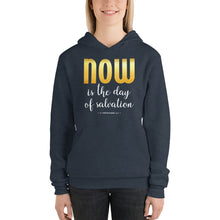 Load image into Gallery viewer, Now is the Day of Salvation II Corinthians 6:2 Unisex hoodie-hoodie-PureDesignTees