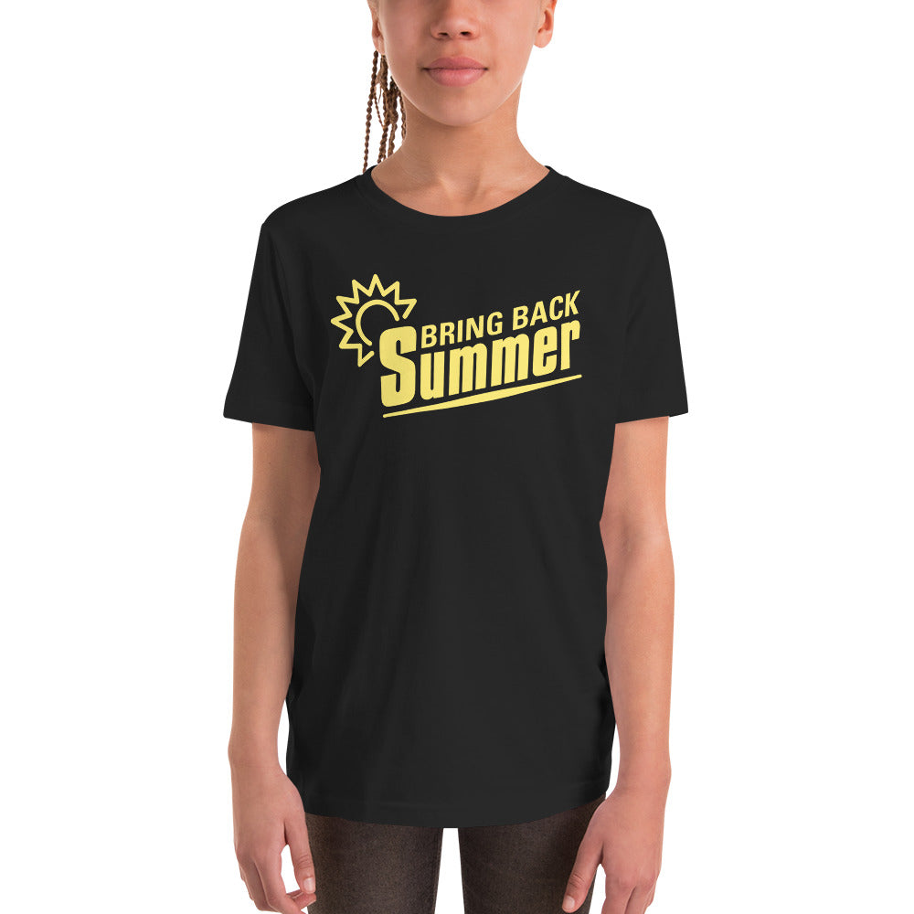 Bring Back Summer Youth Short Sleeve T-Shirt-t-shirt-PureDesignTees