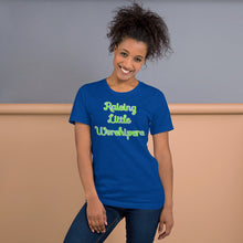 Load image into Gallery viewer, Raising Little Worshipers Short-Sleeve Unisex T-Shirt-T-shirt-PureDesignTees