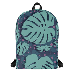 Lovely Floral Backpack-backpack-PureDesignTees
