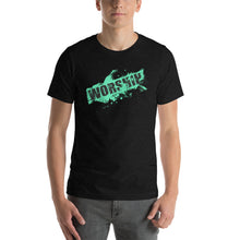 Load image into Gallery viewer, Worship Splatter Short-Sleeve Unisex T-Shirt-T-Shirts-PureDesignTees