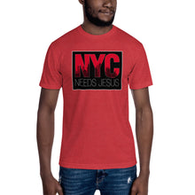 Load image into Gallery viewer, NYC Needs Jesus Unisex Crew Neck Tee-crew neck tee-PureDesignTees