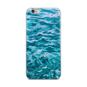 Water iPhone Case-Phone Case-PureDesignTees