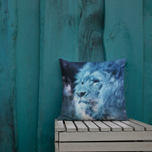 Load image into Gallery viewer, lion Premium Pillow-Pillow-PureDesignTees