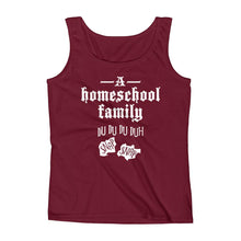Load image into Gallery viewer, A Homeschool Family Ladies' Tank-Tank Top-PureDesignTees
