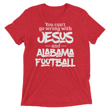 Load image into Gallery viewer, You Can't Go Wrong with Jesus and Alabama Short sleeve t-shirt-T-Shirt-PureDesignTees