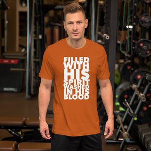 Filled With His Spirit Short-Sleeve Unisex T-Shirt-T-Shirt-PureDesignTees