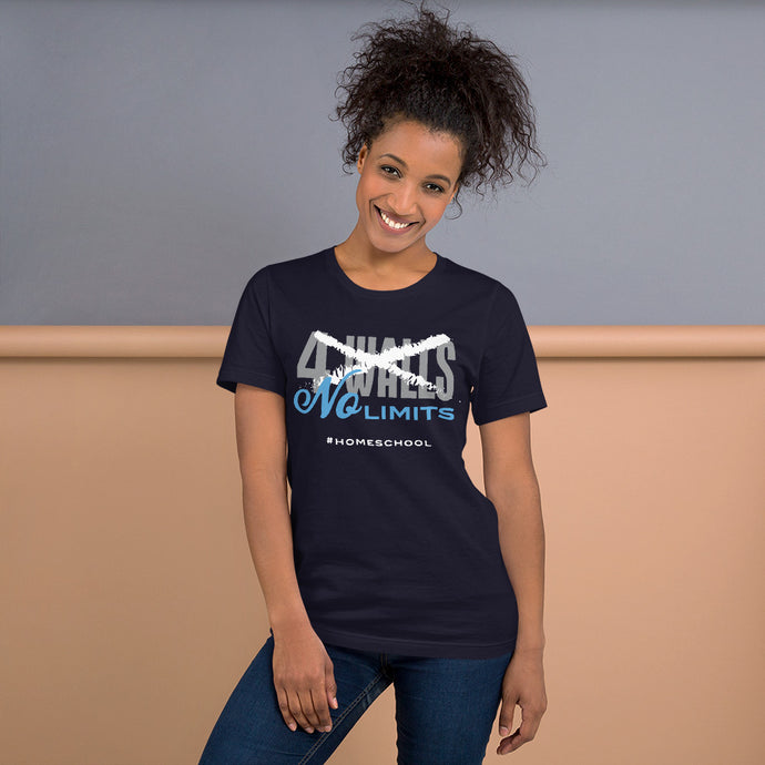 No Limits Homeschool Short-Sleeve Unisex T-Shirt-T-Shirt-PureDesignTees