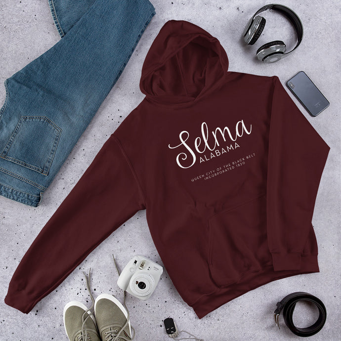 Selma Alabama Hooded Sweatshirt