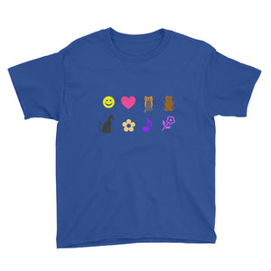 girl stuff Youth Short Sleeve T-Shirt-PureDesignTees