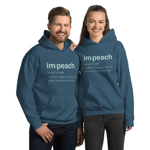 Definition of Impeach Unisex Hoodie-Hoodie-PureDesignTees