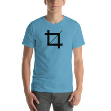 Load image into Gallery viewer, Photoshop Crop Tool Icon Short-Sleeve Unisex T-Shirt-T-Shirt-PureDesignTees