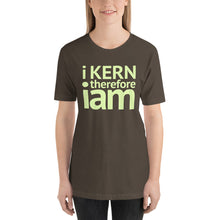 Load image into Gallery viewer, i kern therefore i am Short-Sleeve Unisex T-Shirt-t-shirt-PureDesignTees