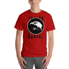 Load image into Gallery viewer, Bald Eagle with Stripes Short-Sleeve T-Shirt-T-shirt-PureDesignTees