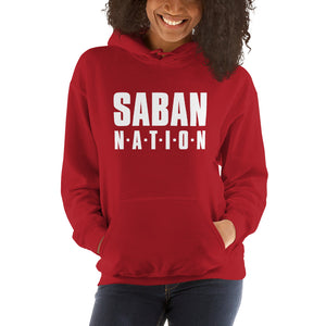 Saban Nation Hooded Sweatshirt-hoodie-PureDesignTees