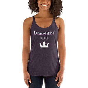 Daughter of the King Women's Racerback Tank