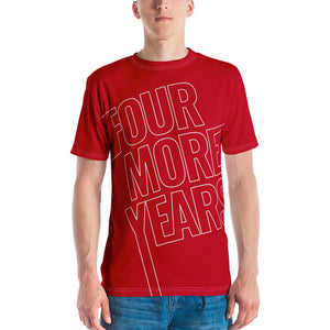 Four More Years Men's T-shirt-All-over-print tee-PureDesignTees