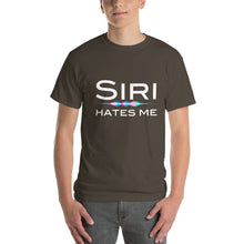 Load image into Gallery viewer, Siri Hates Me Short-Sleeve T-Shirt-T-Shirt-PureDesignTees