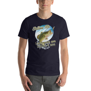 Follow Me and I Will Make You Fishers of Men Short-Sleeve Unisex T-Shirt-T-shirt-PureDesignTees