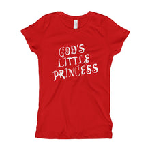 Load image into Gallery viewer, God's Little Princess Girl's T-Shirt-T-Shirt-PureDesignTees