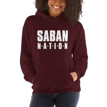 Load image into Gallery viewer, Saban Nation Hooded Sweatshirt-hoodie-PureDesignTees