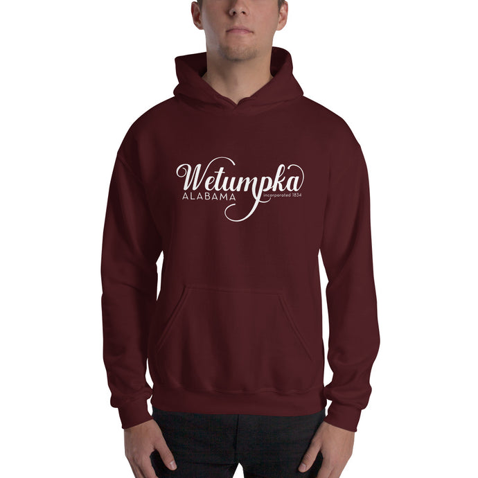Wetumpka Alabama Hooded Sweatshirt