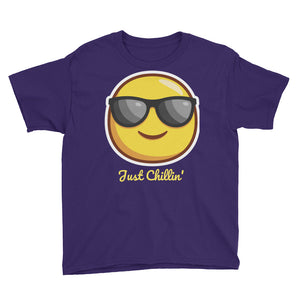 Just Chillin' Youth Short Sleeve T-Shirt-T-Shirt-PureDesignTees