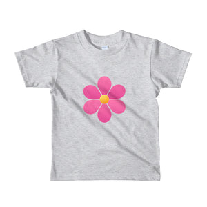 Beautiful Pink Flower for Toddler Short sleeve kids t-shirt-T-Shirt-PureDesignTees
