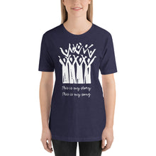 Load image into Gallery viewer, Choir This is My Story This is My Song Short-Sleeve Unisex T-Shirt-T-shirt-PureDesignTees
