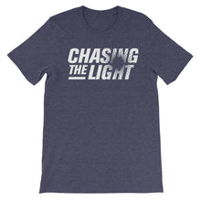 Load image into Gallery viewer, Chasing the Light Unisex short sleeve t-shirt-T-Shirt-PureDesignTees