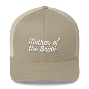 Mother of the Bride Trucker Cap-Hat-PureDesignTees