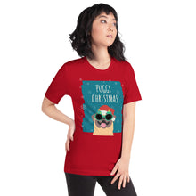 Load image into Gallery viewer, Puggy Christmas Short-Sleeve Unisex T-Shirt-T-Shirt-PureDesignTees