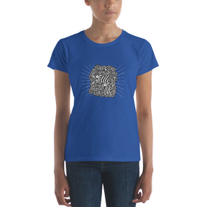 Enjoy the Little Things in Life Women's short sleeve t-shirt-T-Shirt-PureDesignTees