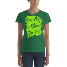 Load image into Gallery viewer, There Are No Strings On Me Women's short sleeve t-shirt-t-shirt-PureDesignTees