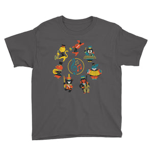 Musical Animals Youth Short Sleeve T-Shirt-t-shirt-PureDesignTees