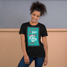 Load image into Gallery viewer, You Can't Buy Love But You Can Rescue It Short-Sleeve Unisex T-Shirt-T-Shirt-PureDesignTees