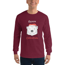 Load image into Gallery viewer, Beary Christmas Long Sleeve T-Shirt-long sleeve t-shirt-PureDesignTees