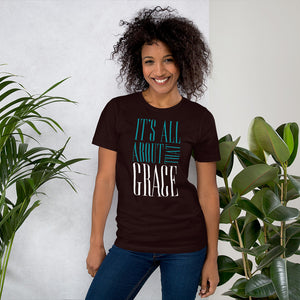 It's All About That Grace Short-Sleeve Unisex T-Shirt-t-shirt-PureDesignTees