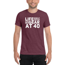 Load image into Gallery viewer, Life Begins at Conception Tri-Blend Short sleeve t-shirt-tri-blend T-shirt-PureDesignTees