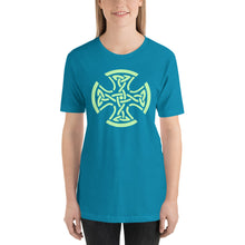 Load image into Gallery viewer, Celtic Cross Short-Sleeve Unisex T-Shirt