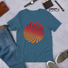 Load image into Gallery viewer, Vortex Optical Illusion Short-Sleeve Unisex T-Shirt-T-Shirt-PureDesignTees